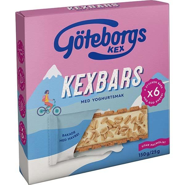 Göteborgskex Kexbars Yoghurt 150g