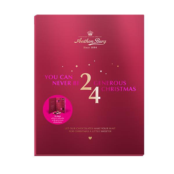 Anthon Berg Christmas Calendar 245g