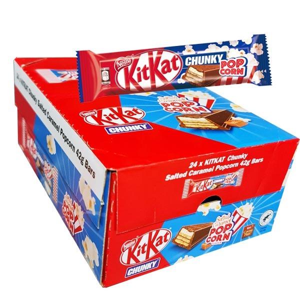 Kit Kat Chunky Popcorn 42g x 24 st