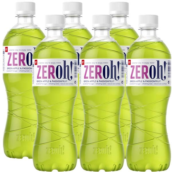ZERoh! Green Apple & Passion 80cl x 6st
