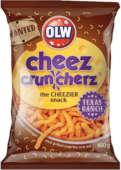 Cheez Cruncherz Texas Ranch 160g