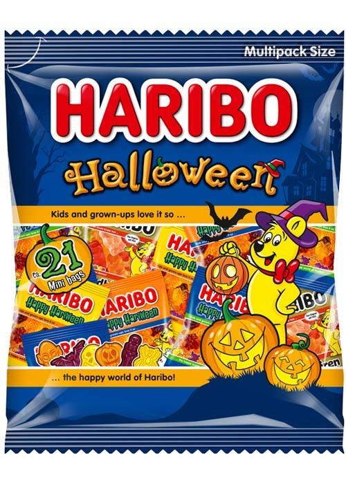 Haribo Halloweenpåse 250g