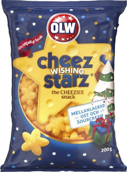 OLW Cheez Wishing Starz 200g