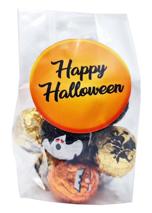 Halloweenchoklad Presentpåse 50g