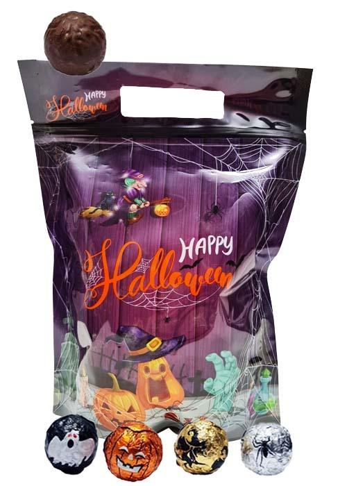 Halloweenchoklad i påse 600g