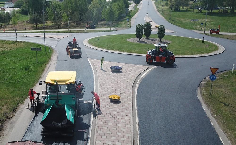 Nytt asfaltavtal Ronneby kommun