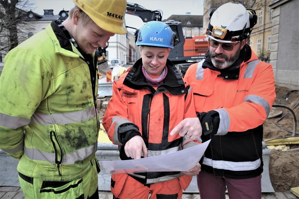 Vunnen markupphandling i Karlskrona