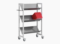 Littbus Book Trolley Mobil 1 – Steel