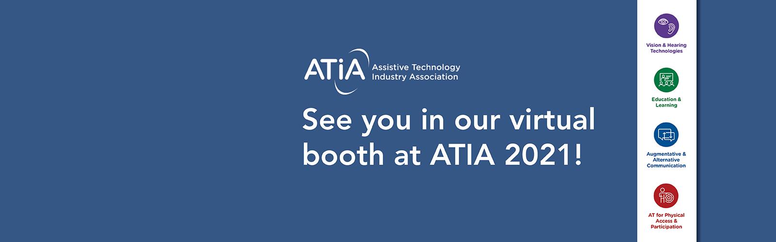 Join us at ATIA 2021!