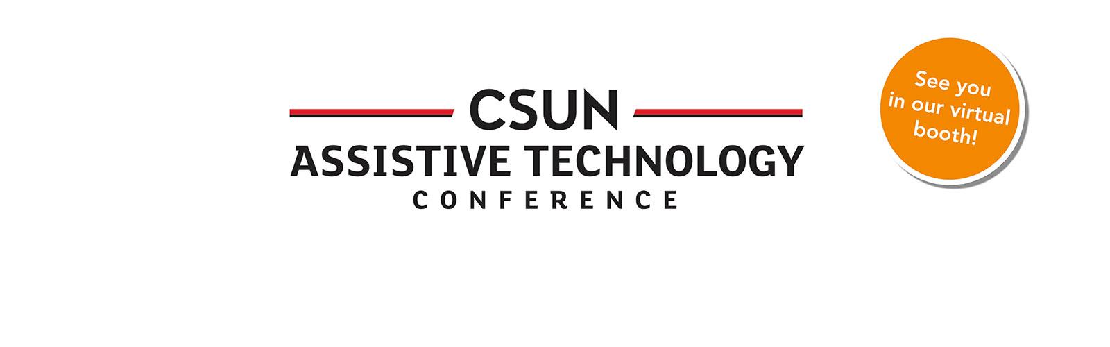 Join us at virtual CSUN 2021!