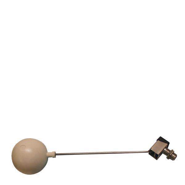 Flottörventil i rostfritt stål, R15 utv