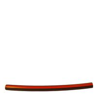 Styrslang PE 8 mm, röd rand
