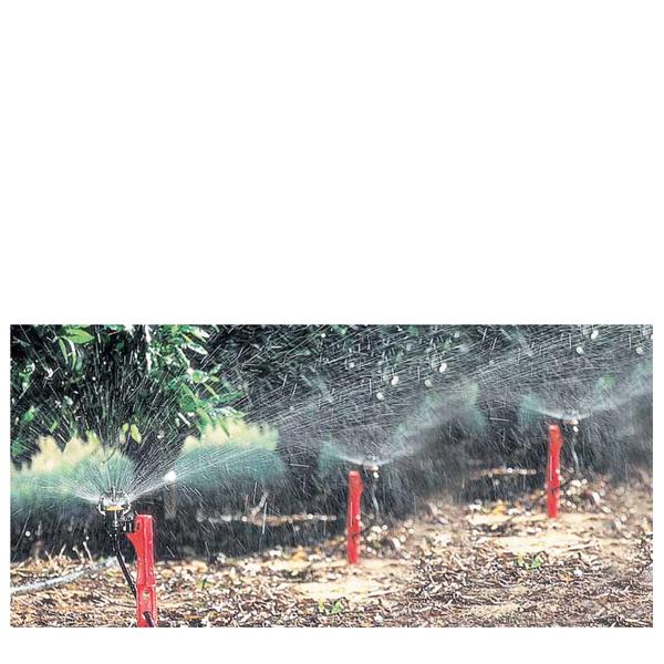 AguaSmart 47 l/h, röd svivel, med spjut 30 cm och