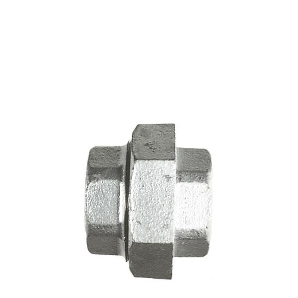 Unionskoppling galvat stål, invändig gänga