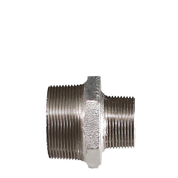 Reducerad nippel galvat stål