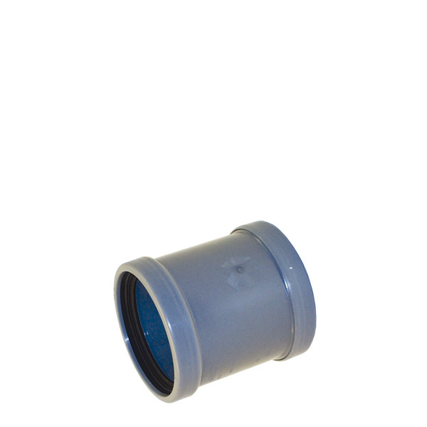 PVC muff 110 mm gummipackning