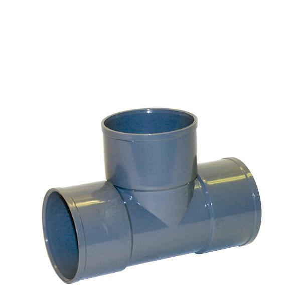 PVC T-rör invändig limning