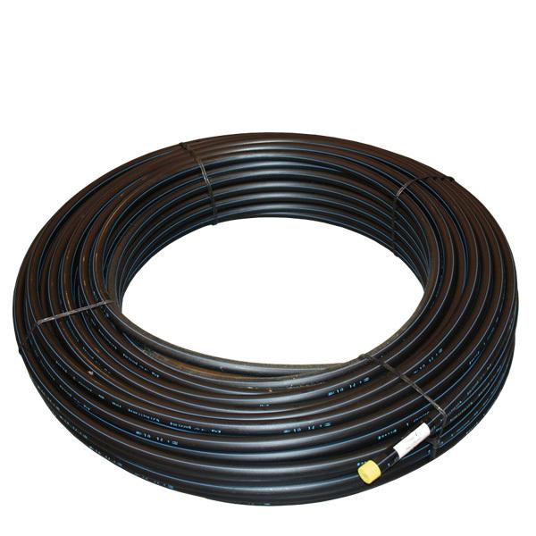 Certifierad polyetenledning PE80 PN8