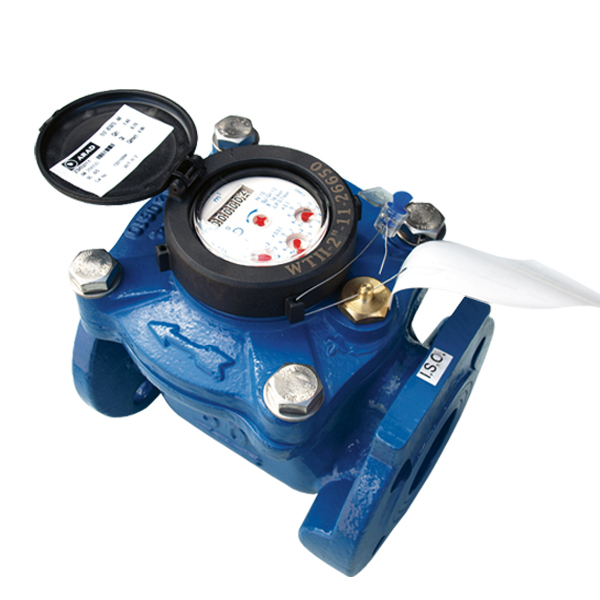 Vattenmätare, flänsanslutning