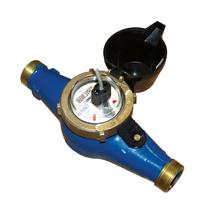 Vattenmätare, gänganslutning med pulsutgång