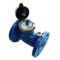 Vattenmätare, flänsanslutning med pulsutgång