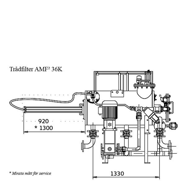 Filtomat trådfilter AMF36