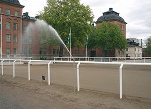 HANNA - automatisk dammbekämpning för paddock
