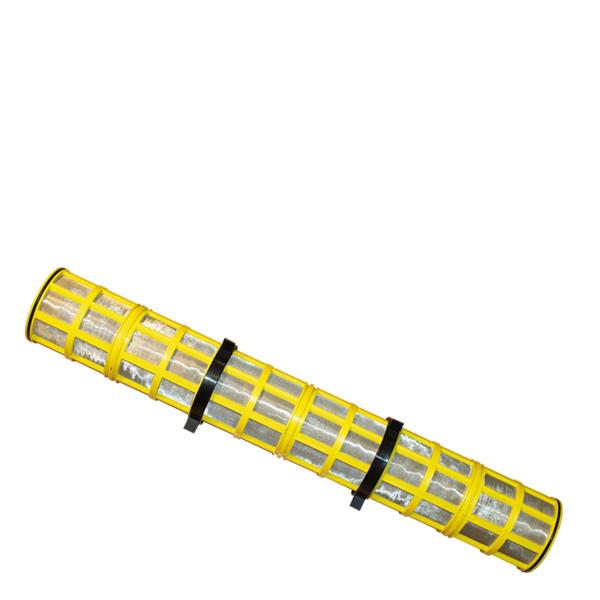 Amiad nätsil RF DN100 100 mikron (gul)