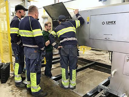 Limex lådtvättar till Svenska Skogsplantor