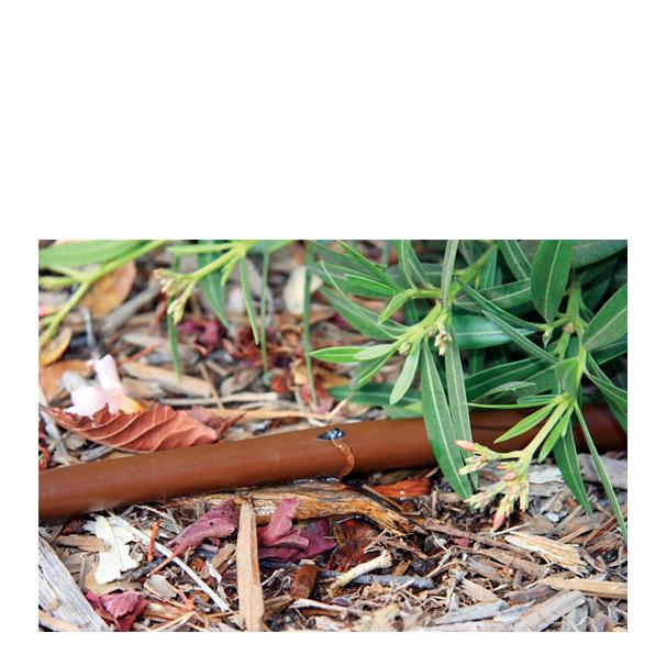 Rain Bird planteringsdroppslang brun 33 cm, ovan jord