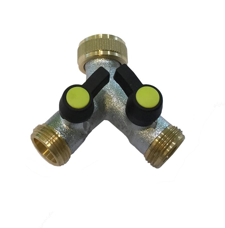 2-vägs ventil utv gg mässing