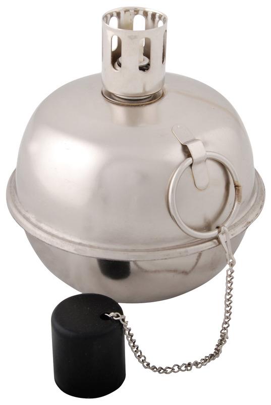 Oljelampa Tumble torch, Silver ,L