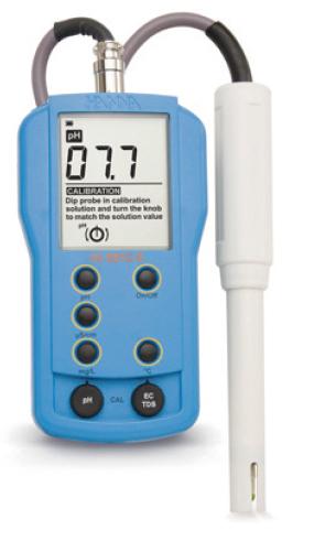 pH och Ledningstalsmätare