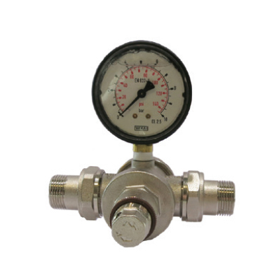 Tryckregulator i metall