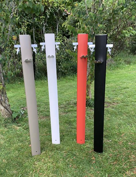 Vattenpost TOTEM, aluminium