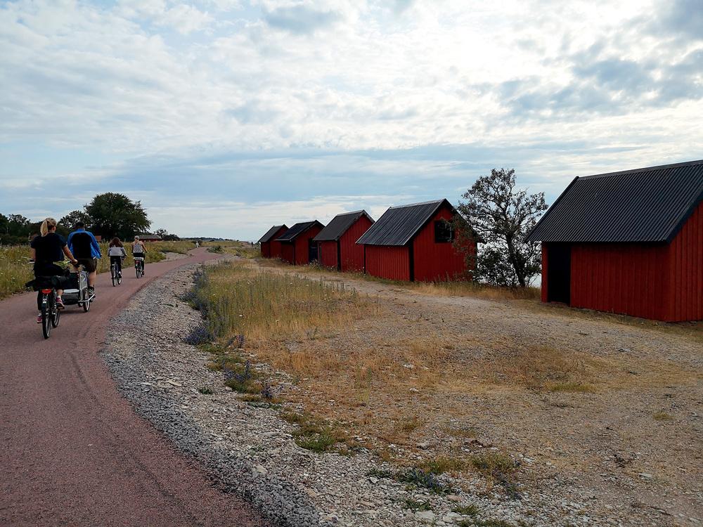 Cykla på Norra Öland.