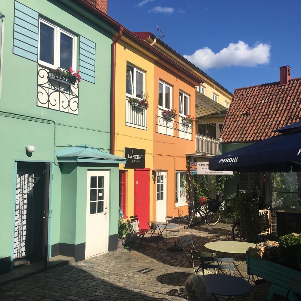 Gårdens Cafe & Vedugn, white guide pizza restaurant in Simrishamn