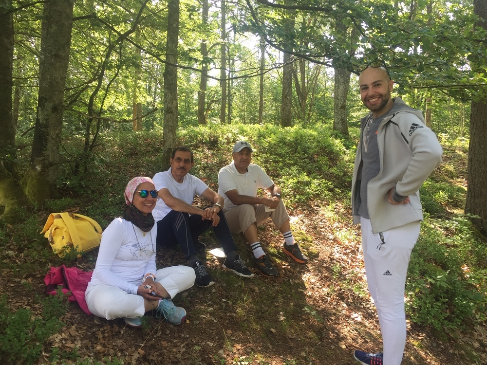 Picnic i skogen