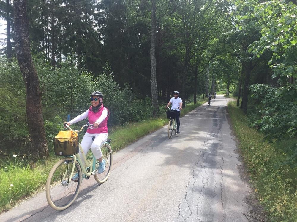 Guidad cykeltur runt Älmhult
