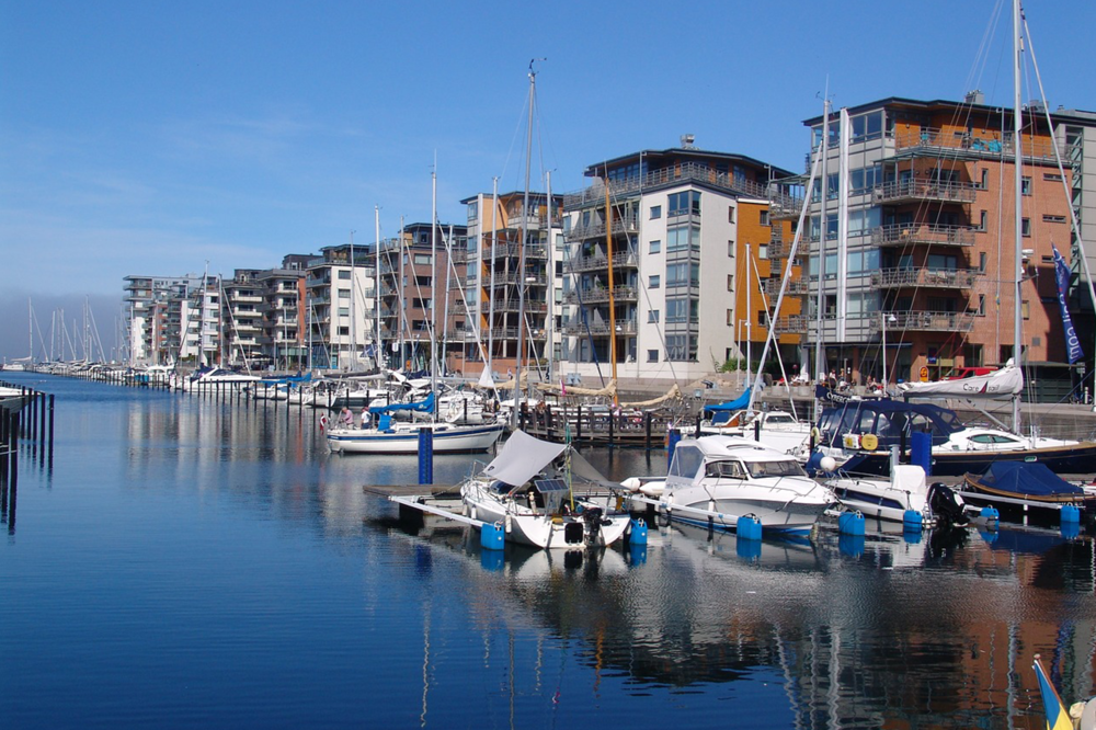 West harbour in Malmö