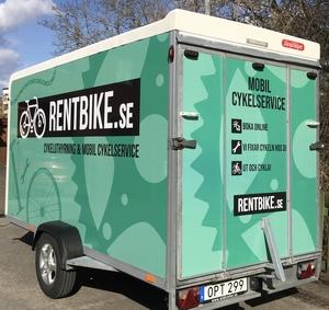 We offer mobile bike services