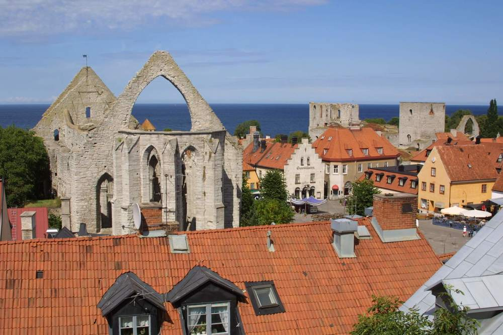 Rent a bike in Visby city center