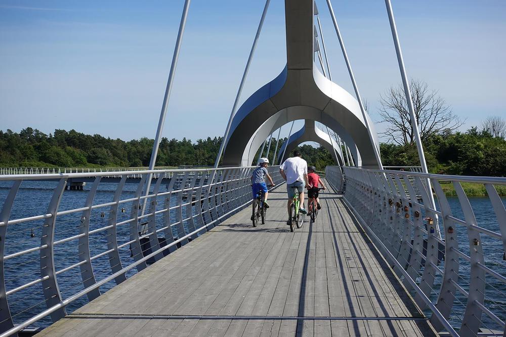 Upptäck vacker natur vid Sydostleden på cykel.