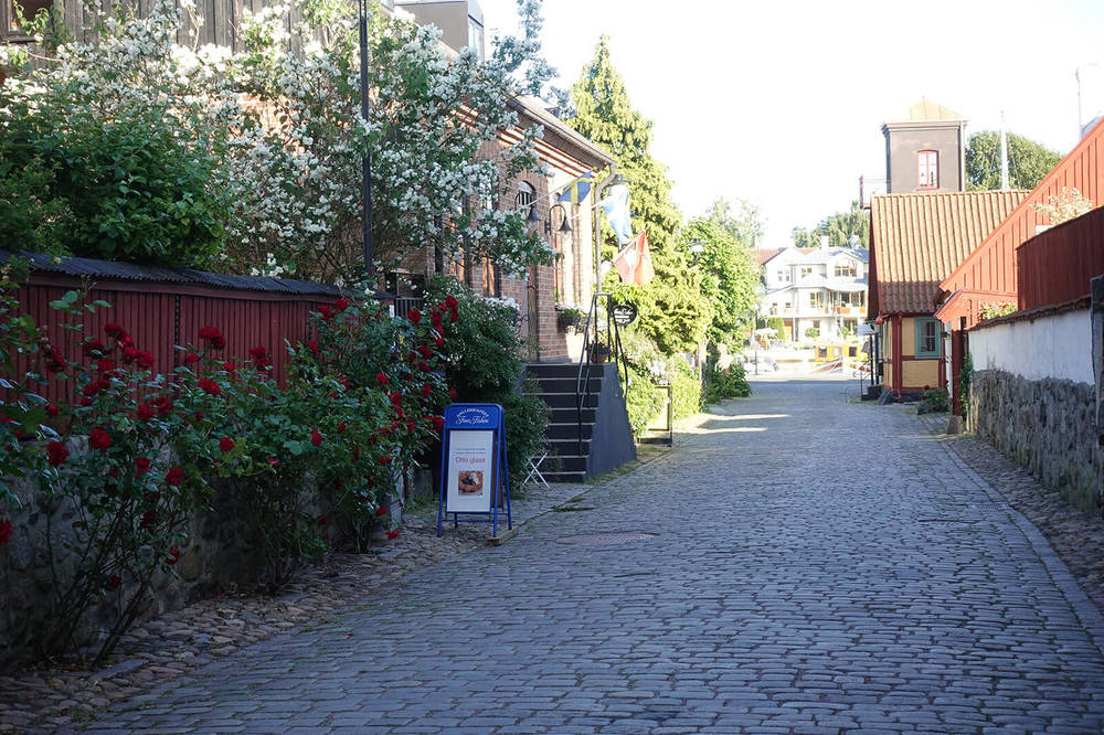 Hyr en cykel i Åhus.
