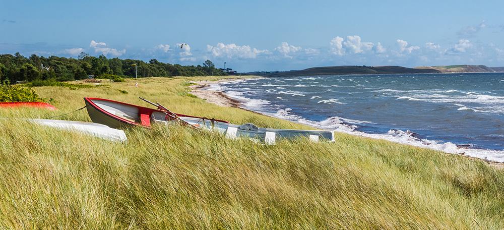 Upptäck södra skånes kust med hyrcykel.