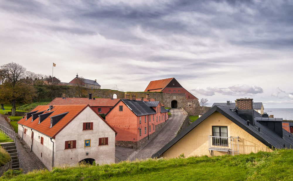 Cycle to Varberg Fortress