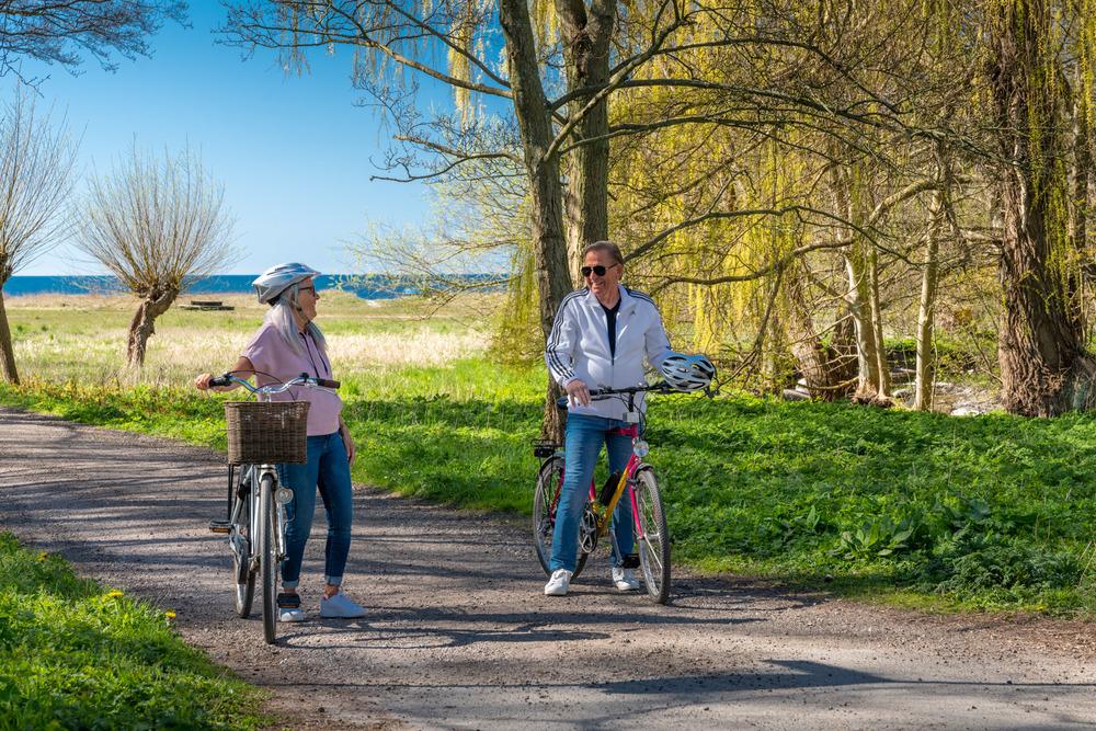 Rent a bike i Trelleborg city center.