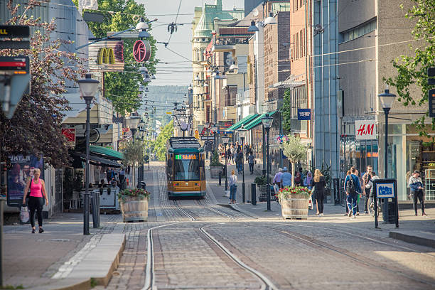 Rent a bike Norrköping city.