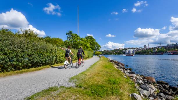 Cykla i Stockholm runt.