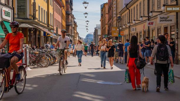 Hyra cykel i Stockholm City.
